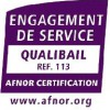 Logo Qualibail  AFAQ REF-113 Version 2011