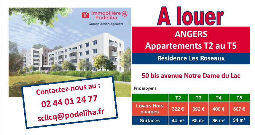 Location Angers