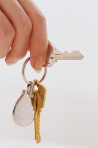 Hand Holding Set of Keys